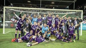 El Perth Glory fue campeón de liga la temporada pasada