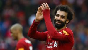 Salah, uno de los jugadores más talentosos del Liverpool.