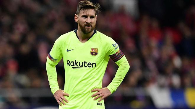 El Barça da por perdido a Messi