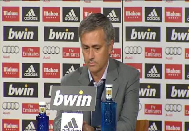 Mourinho: No estoy contento porque tenemos que jugar mucho más de lo que lo hemos hecho