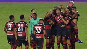 El Flamengo, campeón del Brasileirao, es uno de los candidatos al título