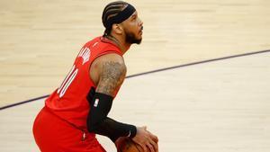 Los Blazers fueron el último equipo de Carmelo Anthony
