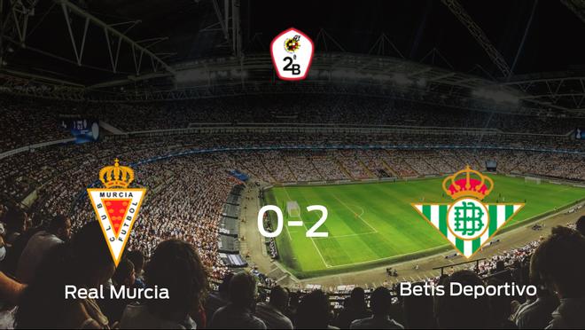El Betis Deportivo gana 0-2 al Real Murcia y se lleva los tres puntos