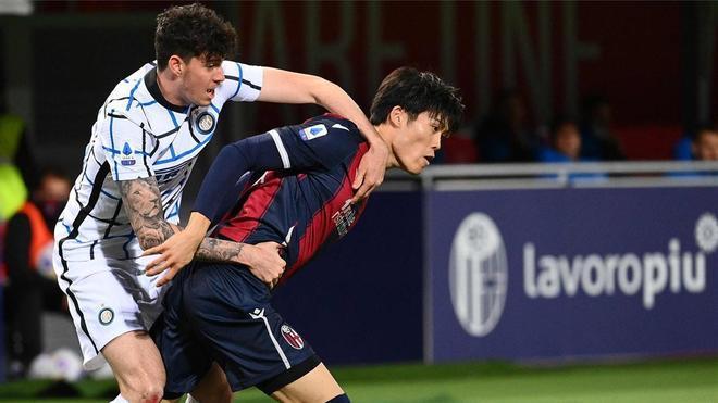 Alessandro Bastoni, un central del agrado de Guardiola