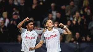 El resumen de la victoria del RB Salzburgo ante el Wolfsburgo