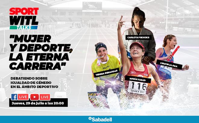 Mujer y deporte , la eterna carrera: debatiendo sobre igualdad de género en el ámbito deportivo