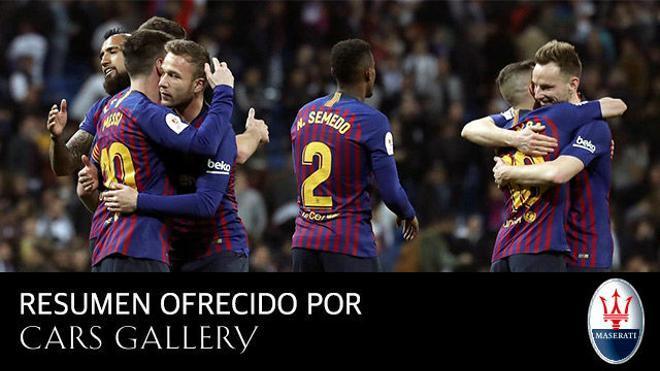 El Barça más eficaz de la temporada se clasifica para la final de la Copa del Rey