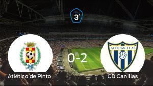 El Canillas venció 0-2 en casa del Atlético de Pinto