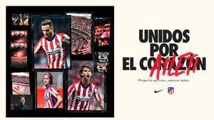 Así será la nueva equipación del Atlético de Madrid