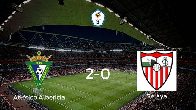 Los tres puntos se quedan en casa: Atlético Albericia 2-0 Selaya