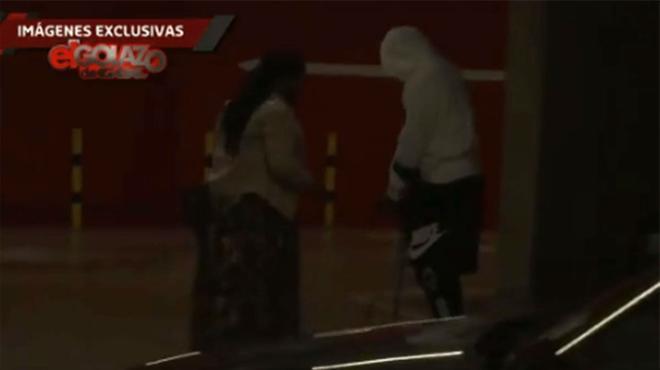 Así ha sido la llegada de Ansu Fati a la Clínica Quirón para ser operado