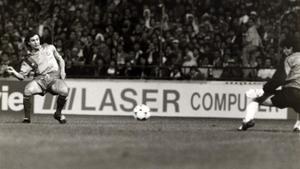 López Rekarte firmó el 2-0 en la final de la Recopa de 1989: su único gol con el Barça