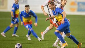El Andorra no ha podido asaltar el liderato