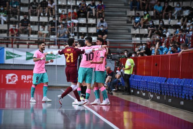 El Barça empató la serie en los penaltis