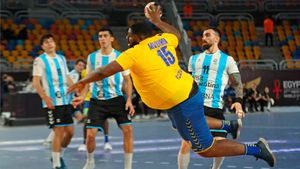 El pívot de la Selección del Congo, estrella del Mundial de Balonmano