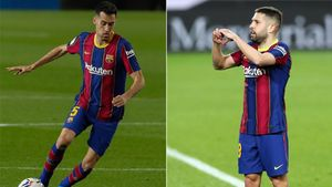 Busquets y Alba se mantienen como titularísimos en el Barça