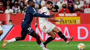 El gol de Rafa Mir que sentenció al Espanyol