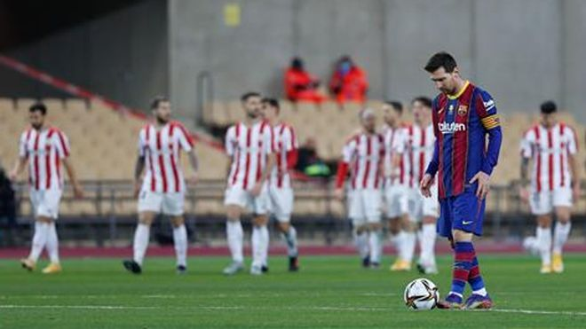 El Athletic supera al Barça en la prórroga y deja a los de Koeman sin la Supercopa