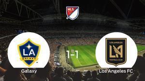 El LA Galaxy y el Los Angeles FC empatan a uno en el StubHub Center