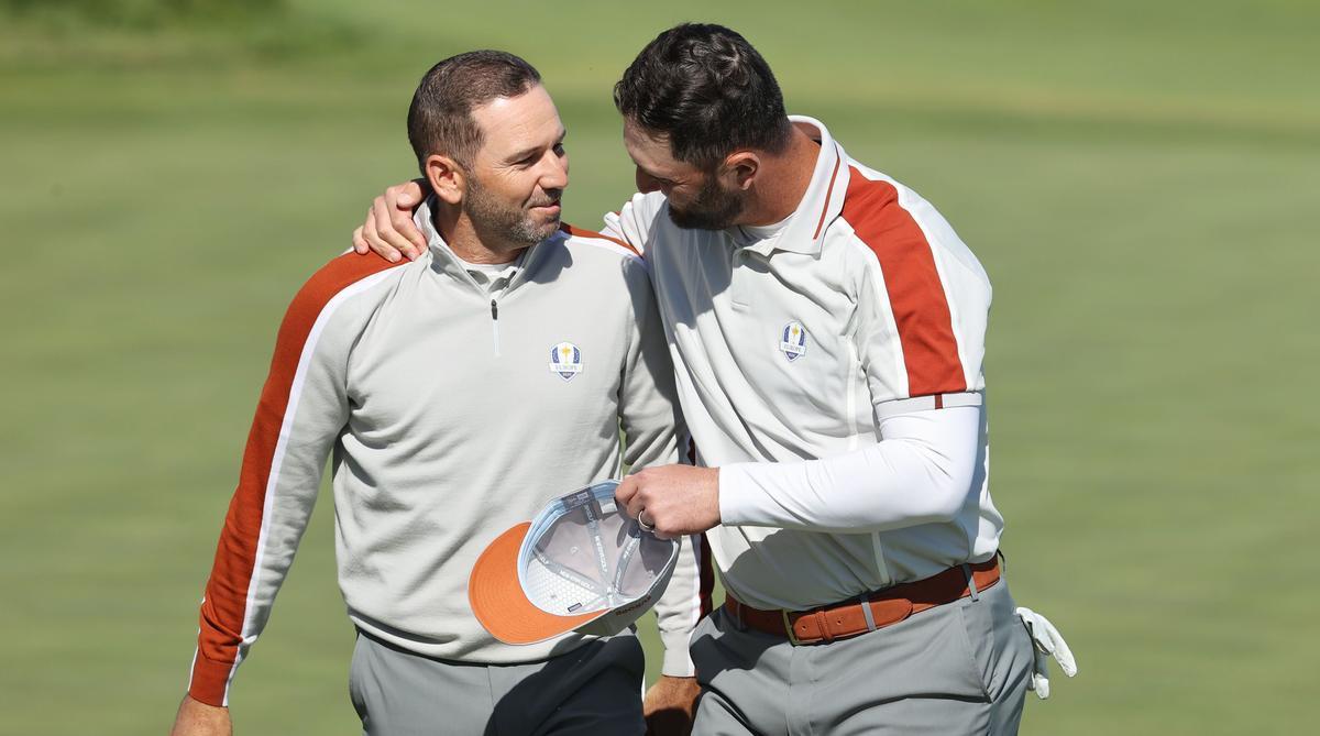 Jon y Sergio siguen disfrutando de su juego en pareja pero el resto no les siguen