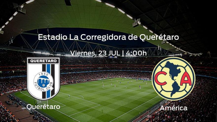 Previa del encuentro: el Querétaro y el América se enfrentan en su primer asalto en la Liga MX de Apertura