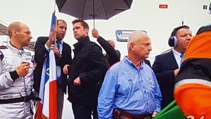 Brad Pitt, en la parrilla de Le Mans