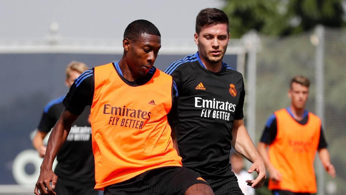 Luka Jovic queda como único delantero del Real Madrid tras el positivo de Karim Benzema