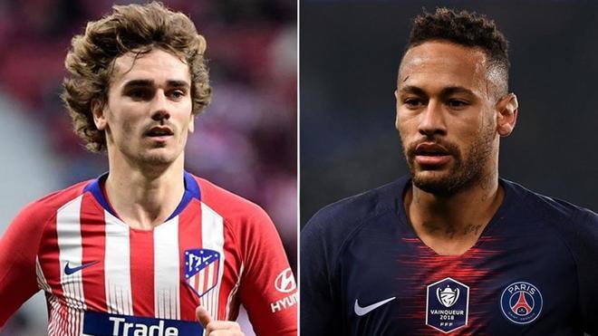 Griezmann y Neymar, los dos fuera de serie que quiere y planea incorporar el FC Barcelona en la ventana de verano