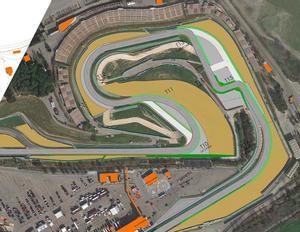 El Circuit volverá a su configuración original en la curva 10
