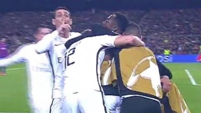 Este fue el gesto de Di María tras el gol