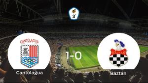 El Cantolagua se impone por la mínima al Baztan (1-0)