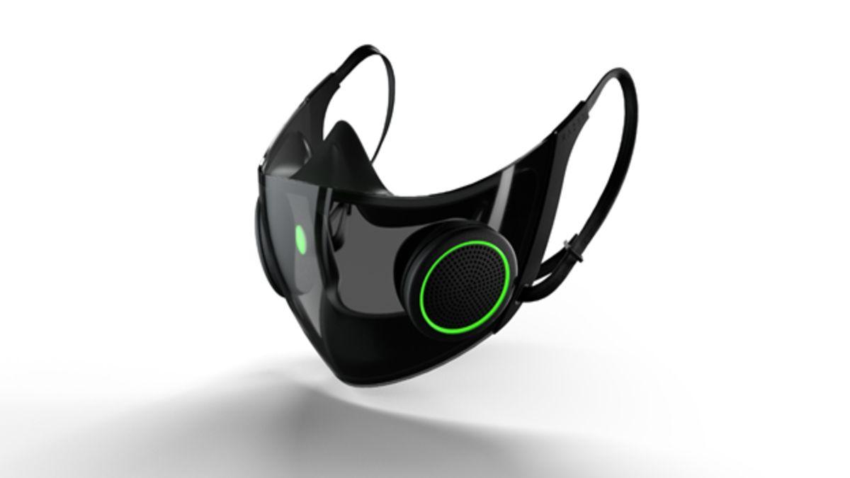 Razer presenta el diseño conceptual de su nueva mascarilla