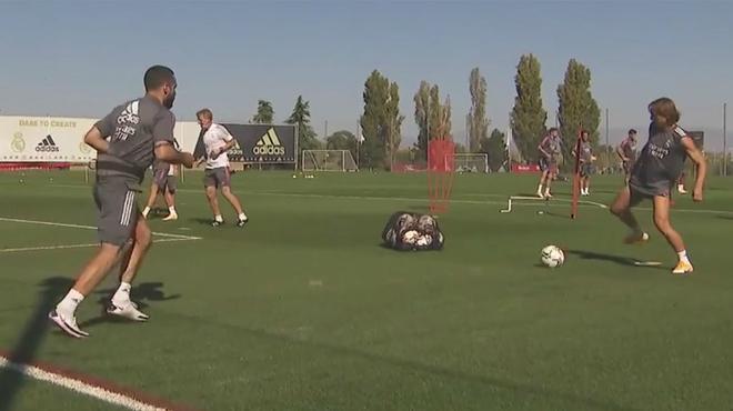 El Real Madrid sigue los preparativos antes del inicio de temporada