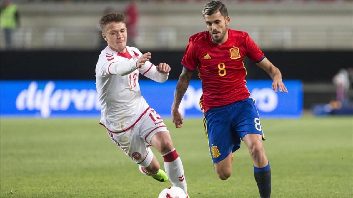 Dani Ceballos está centrado ahora en la selección española sub21