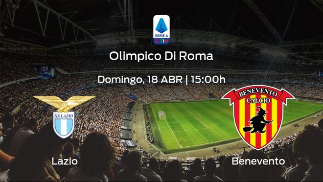 Previa del encuentro de la jornada 31: Lazio contra Benevento