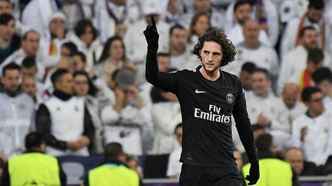 LACHAMPIONS   Real Madrid - PSG (3-1): Rabiot adelantó al PSG en el Bernabéu