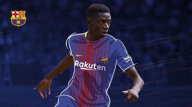 Dembélé, nuevo jugador del Barça