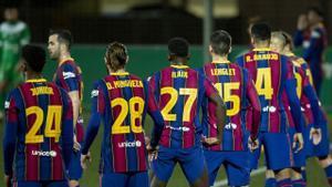 El 1x1 del Barça ante el Cornellá