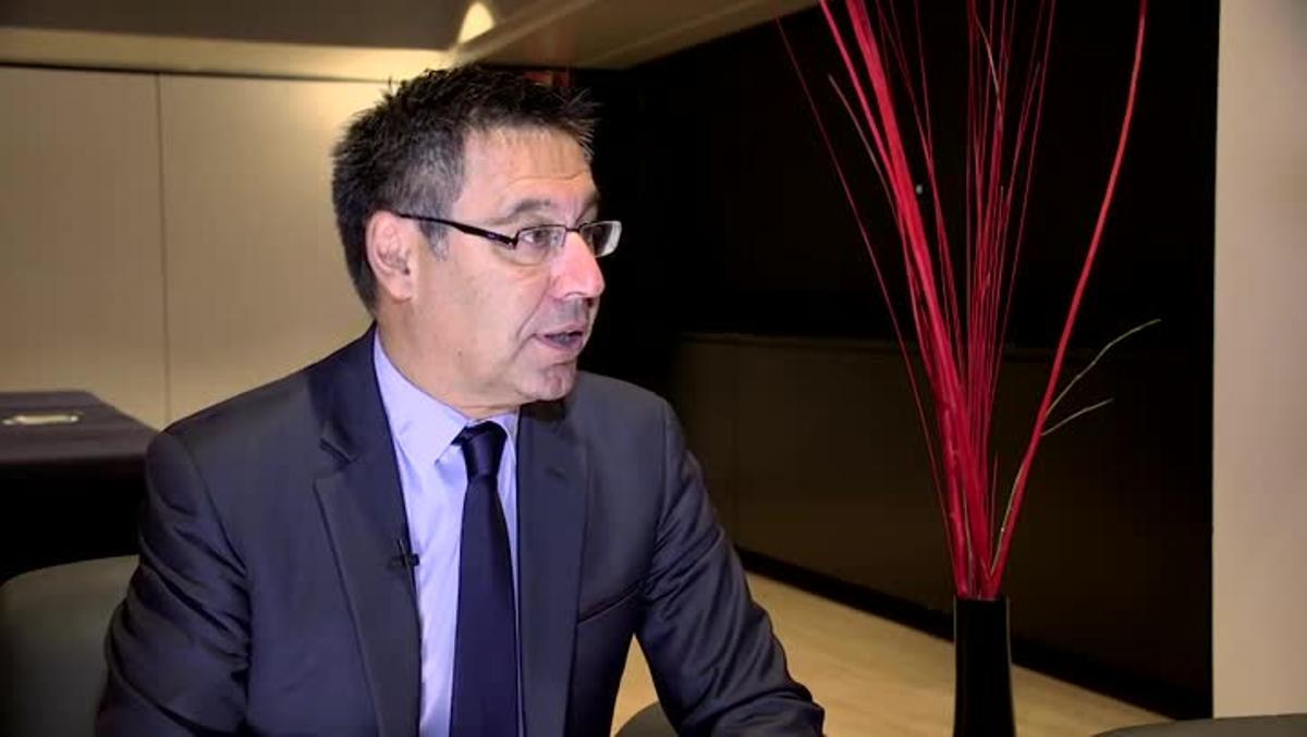 Entrevista SPORT: Bartomeu: El padre de Messi ha firmado la renovación