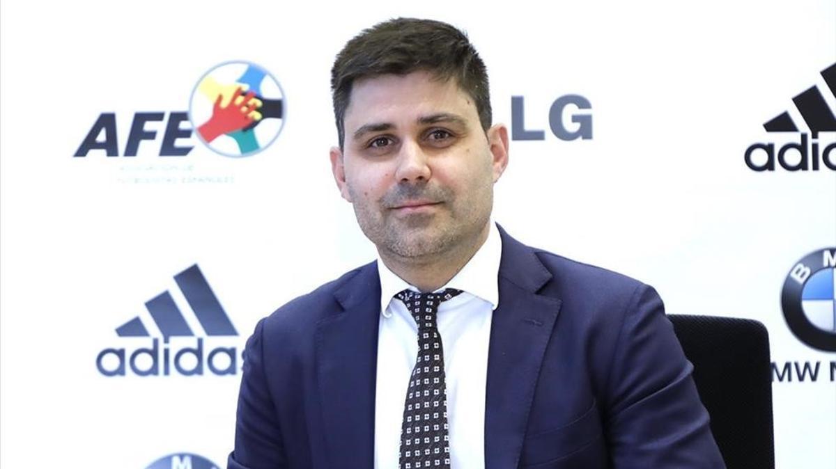David Aganzo, actual presidente de la AFE
