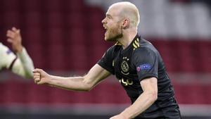 El gol de Klaassen ante la Roma