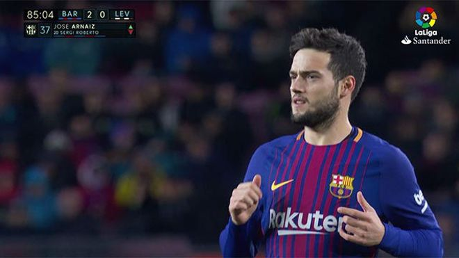 LALIGA | FC Barcelona - Levante (3-0): Arnaiz debutó en LaLiga