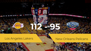 Los Angeles Lakers se queda con la victoria frente a New Orleans Pelicans por 112-95