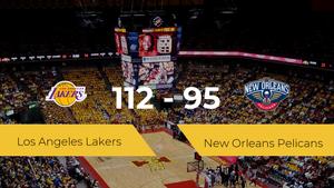 Los Angeles Lakers se queda con la victoria frente a New Orleans Pelicans por 112-95