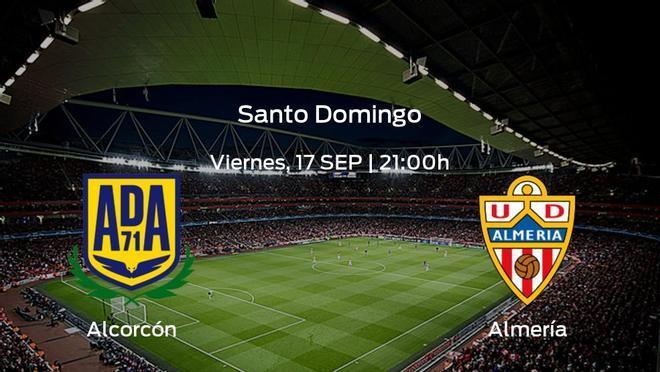 Jornada 6 de la Segunda División: previa del encuentro Alcorcón - Almería