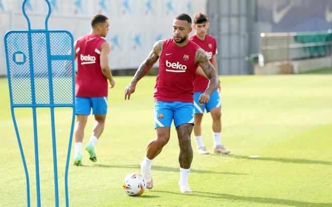 Así ha sido el entrenamiento previo al amistoso ante el Girona