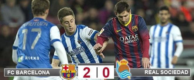 Messi no brilló y se quedó sin marcar