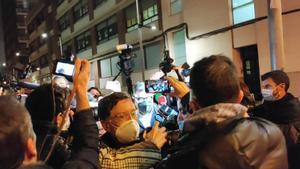 Román Gómez Ponti sale de comisaría sin declarar