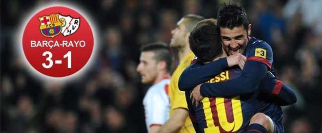 Villa y Messi formaron un tándem letal