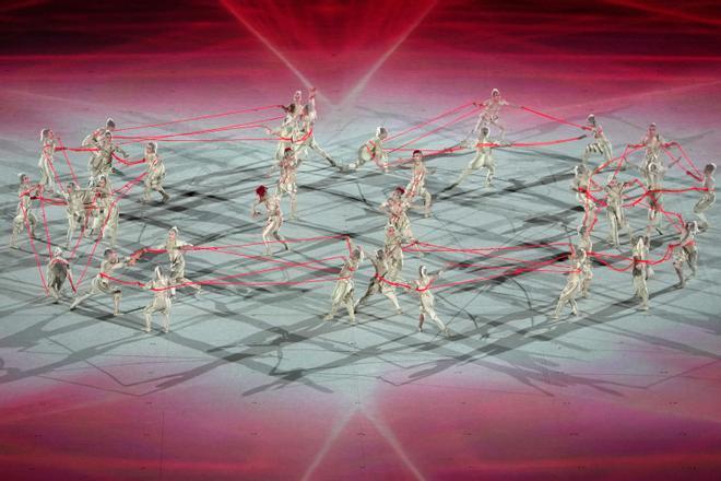 Las imágenes de la apertura de los Juegos Olímpicos de Tokio
